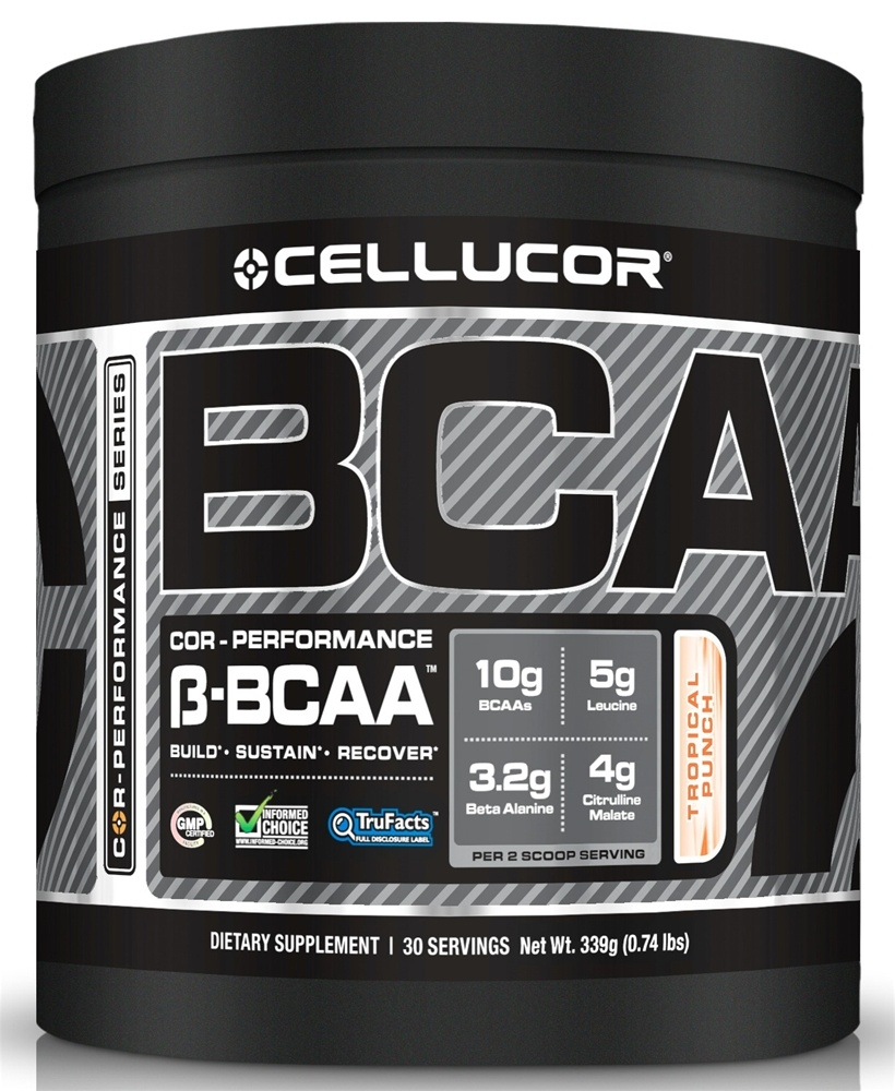 Cellucor - Cor-Performance Series BCAA Tropical Punch 30 Servings - 339 Grams