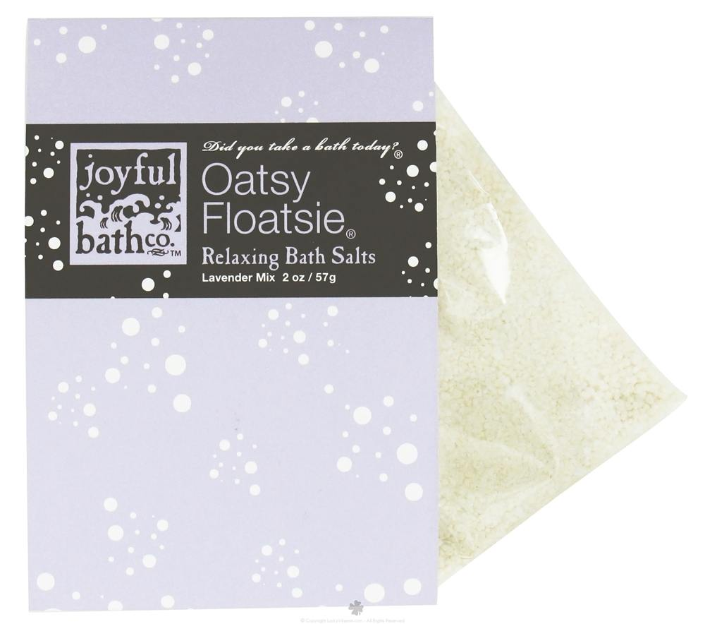 Joyful Bath Co - Bath Salts Relaxing Oatsy Floatsie - 2 oz. CLEARANCE PRICED