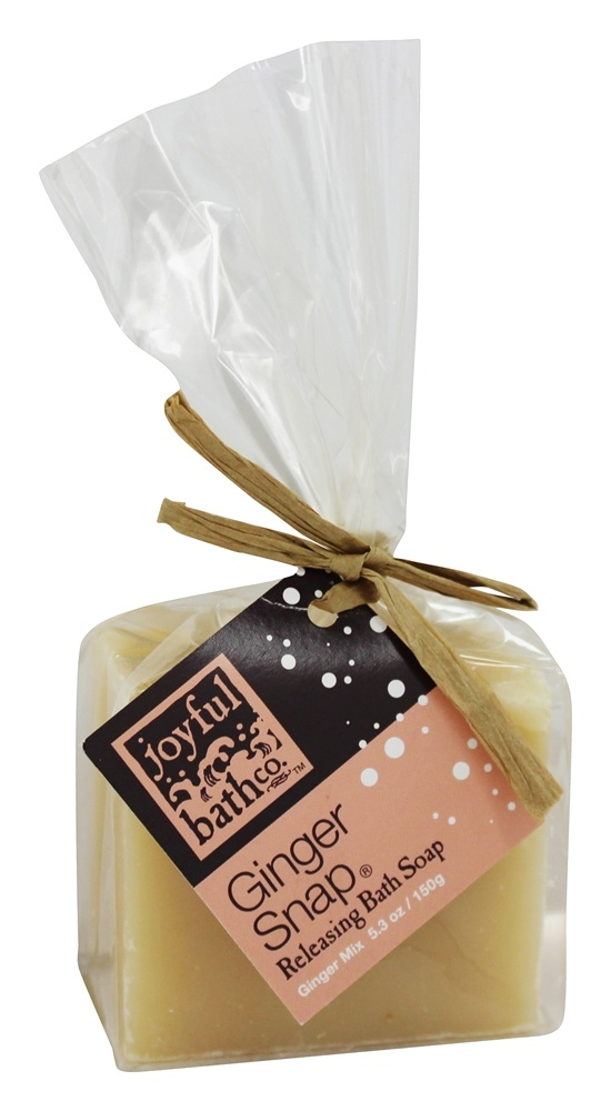 Joyful Bath Co - Bath Soap Releasing Ginger Snap - 5.3 oz. CLEARANCE PRICED