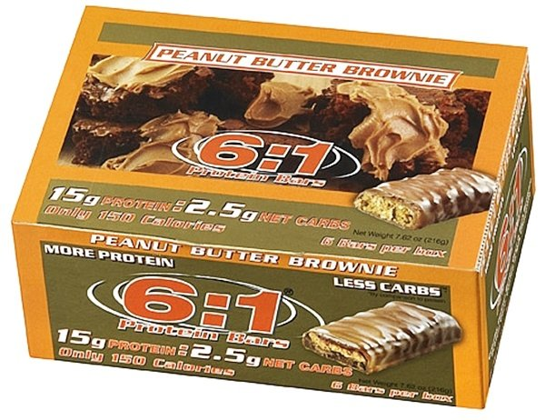MetraGenix - 6:1 Protein Bar Peanut Butter Brownie - 1.26 oz.