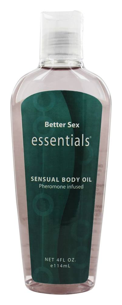 Sinclair Institute - Better Sex Essentials Sensual Body Oil Pheromone Infused - 4 oz.