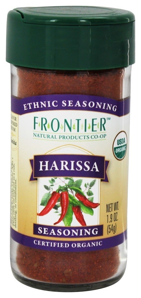 Frontier Natural Products - Ethnic Seasoning Harissa Organic - 1.9 oz.
