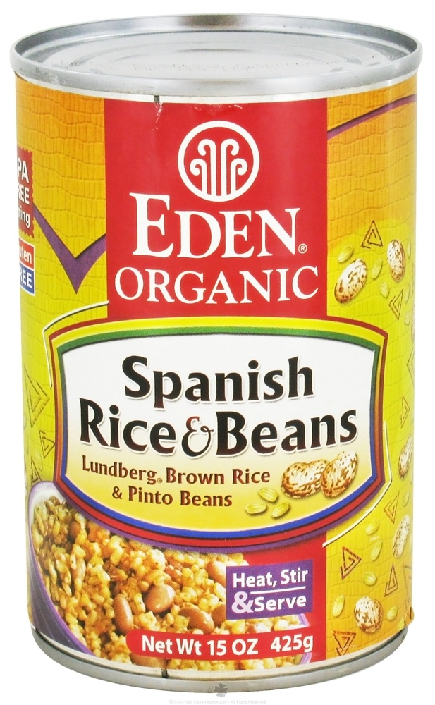 Eden Foods - Organic Spanish Rice and Beans - 15 oz.