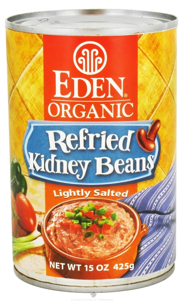 Eden Foods - Organic Refried Kidney Beans - 15 oz.