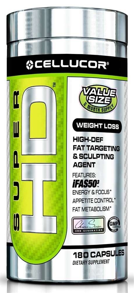 Cellucor - Super HD Fat Targeting & Sculpting Agent Value Size - 180 Capsules