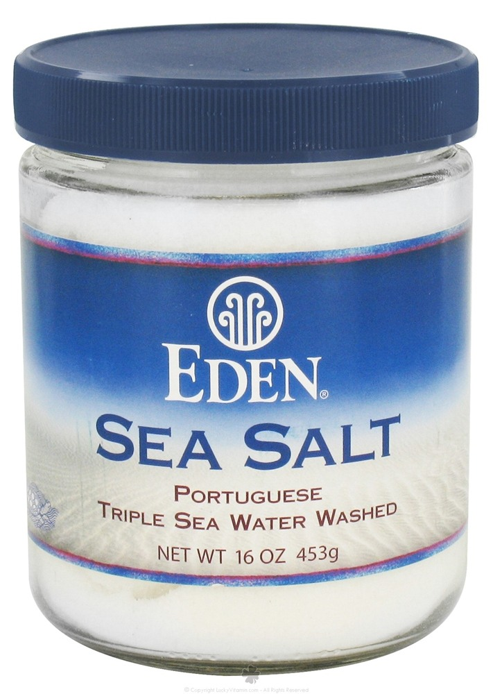 Eden Foods - Sea Salt Portuguese - 16 oz.