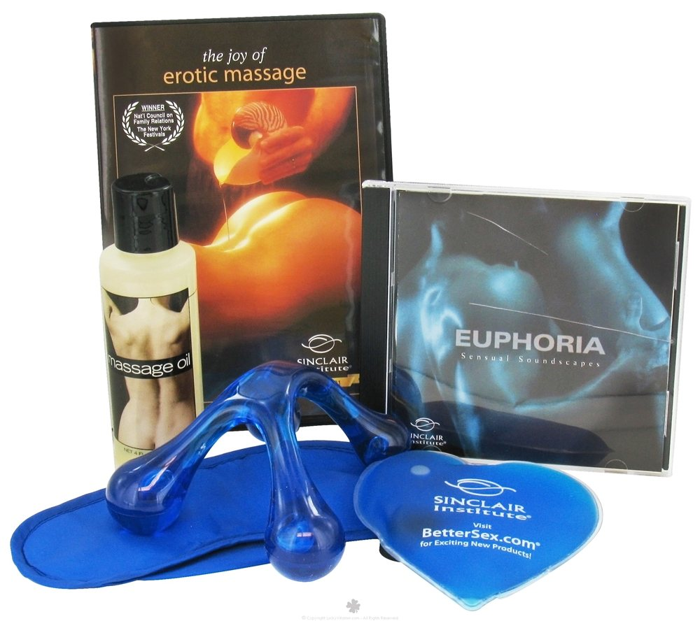 Sinclair Institute - Joy of Erotic Massage Kit - 6 Piece(s) CLEARANCE PRICED