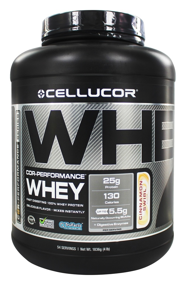 Cellucor - Cor-Performance Series Whey Cinnamon Swirl - 4 lbs.