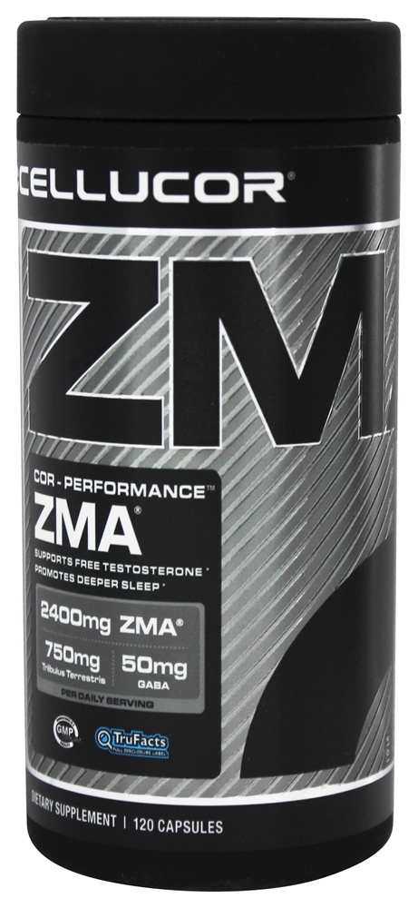 Cellucor - Cor-Performance Series ZMA - 120 Capsules