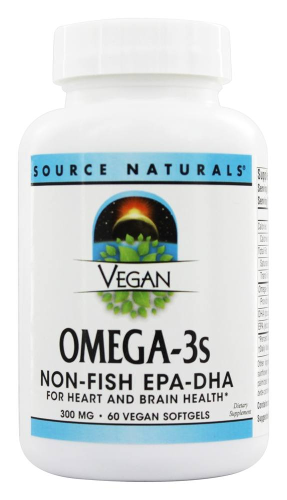 Source Naturals - EPA-DHA 300 mg. 60 Vegan Softgels