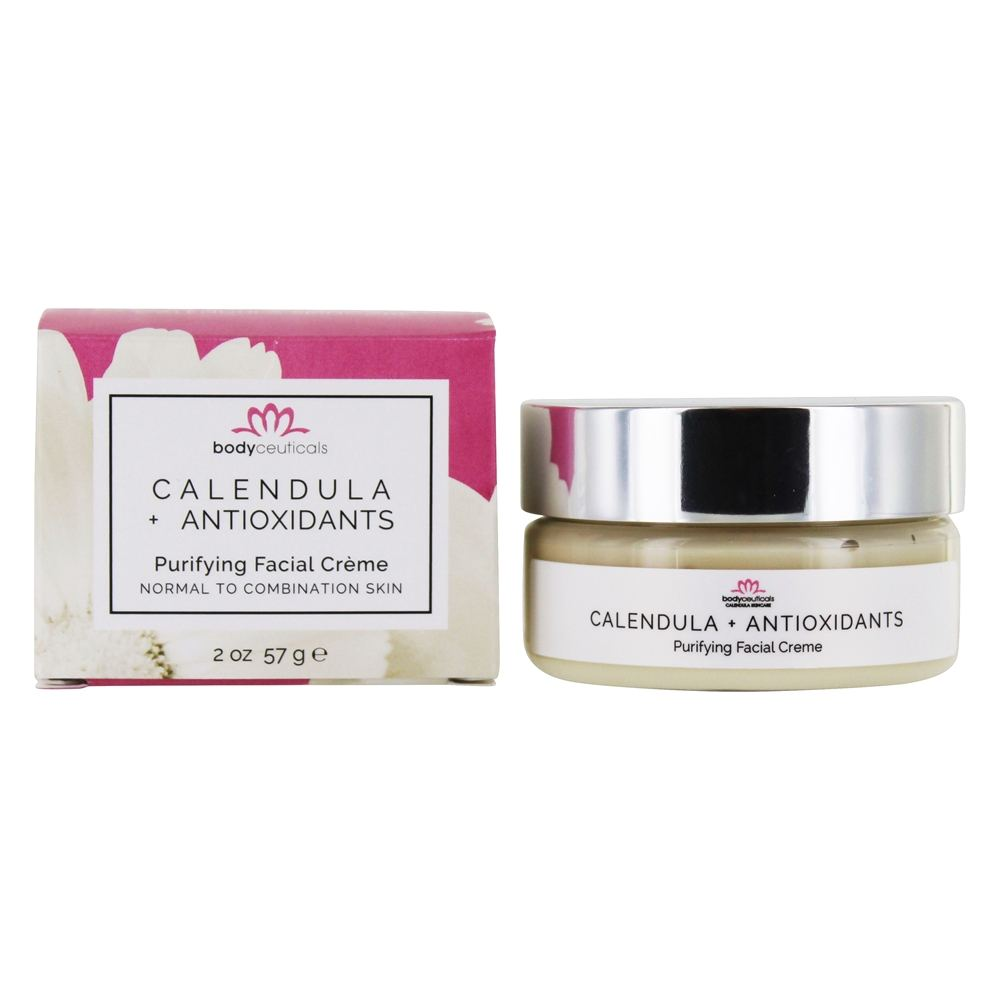 Bodyceuticals - Purifying Facial Creme Calendula + Antioxidant Berries - 2 oz. CLEARANCE PRICED