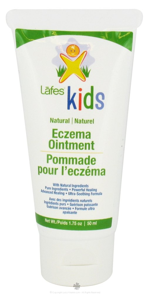Lafes - Kids Natural Eczema Ointment Travel Size - 1.75 oz. CLEARANCE PRICED