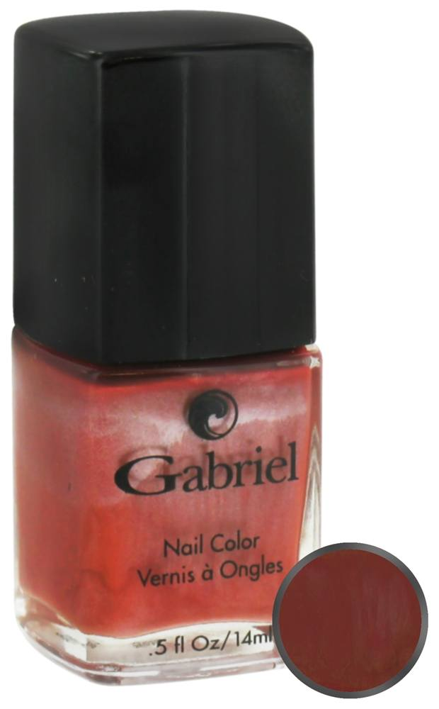 Gabriel Cosmetics Inc. - Nail Color Spiced Apple - 0.5 oz. CLEARANCE PRICED