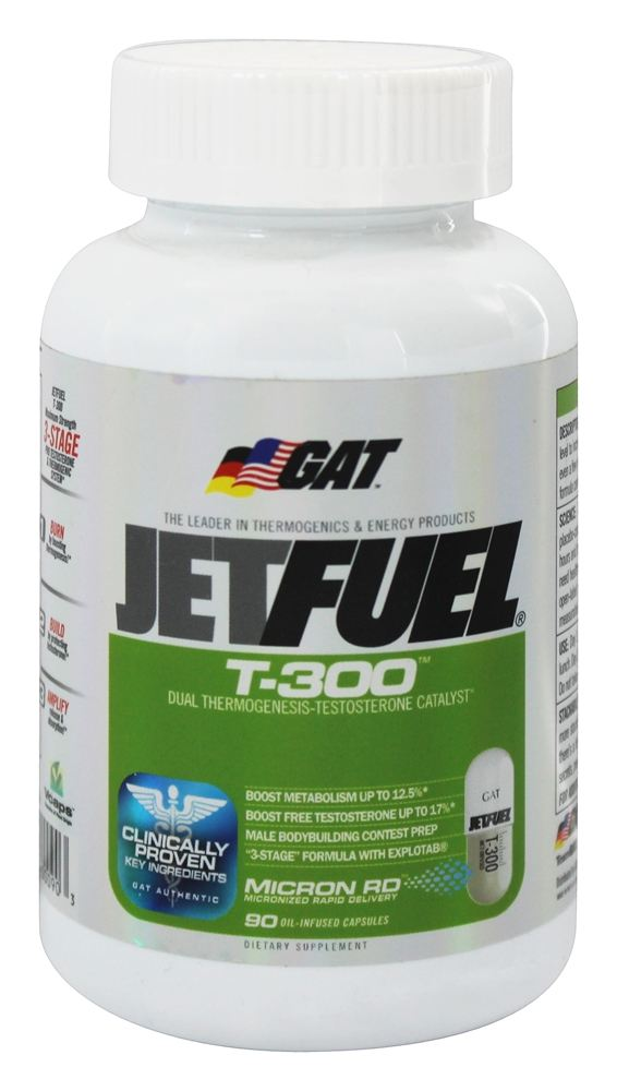 GAT - T-300 Dual Thermogenesis-Testosterone Catalyst - 90 Capsules CLEARANCE PRICED