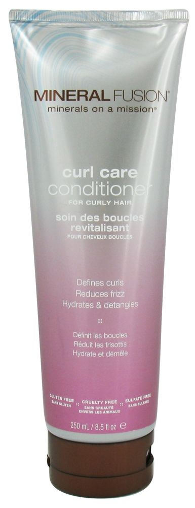 Mineral Fusion - Conditioner Curl Care For Curly Hair - 8.5 oz. CLEARANCE PRICED