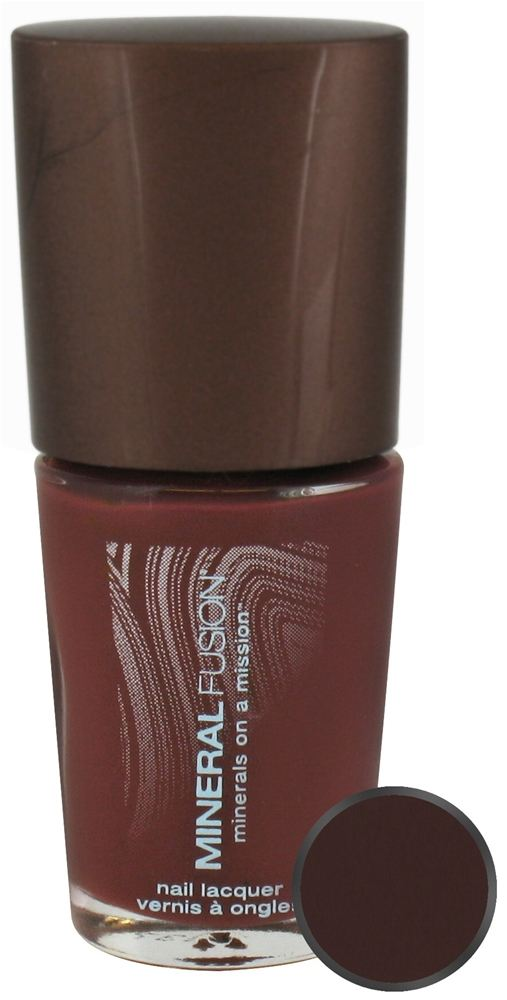 Mineral Fusion - Nail Polish Rusty Rum - 0.33 oz. CLEARANCE PRICED