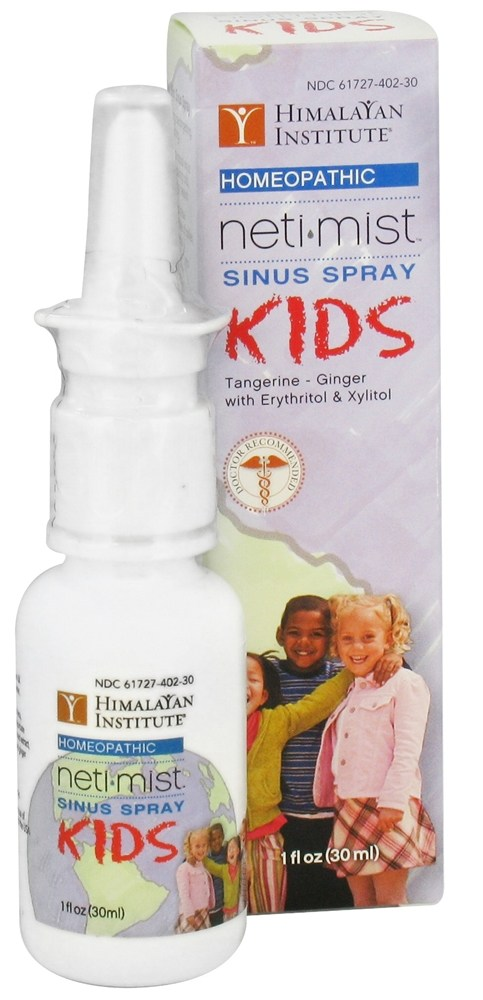 Himalayan Institute - Neti Mist Kids Sinus Spray - 1 oz.