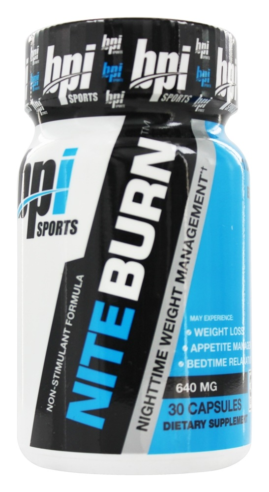 BPI Sports - Nite-Burn Nighttime Weight Management - 30 Capsules