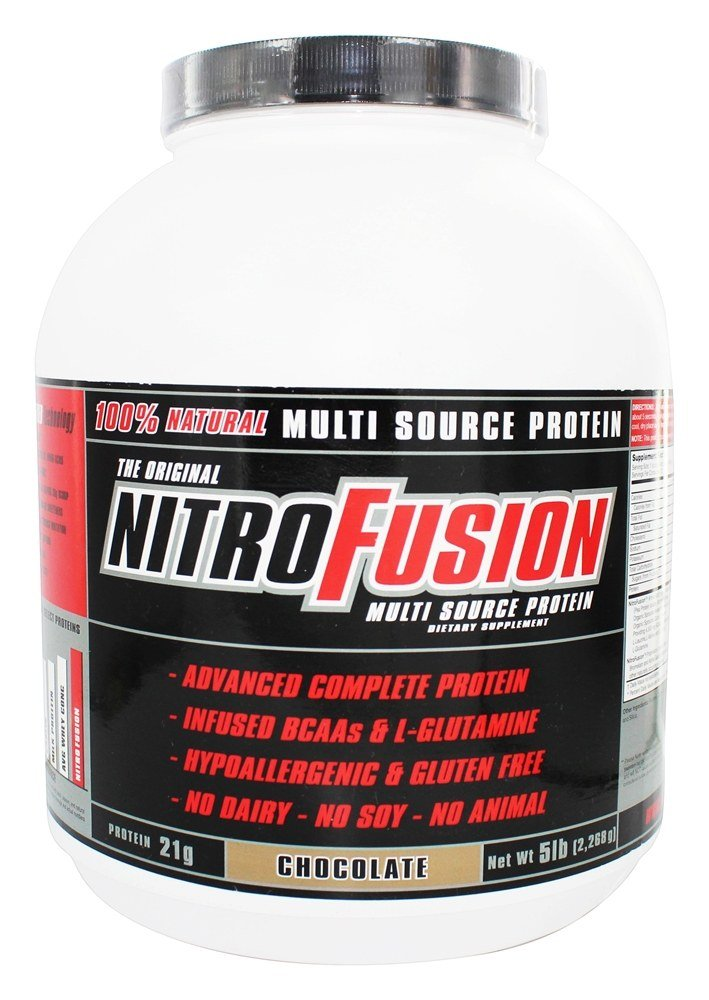 NitroFusion - Multi Source Protein Chocolate - 5 lbs.