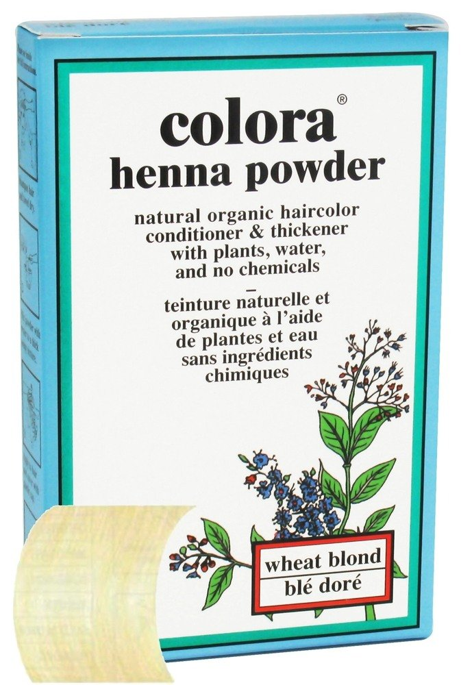 Colora - Henna Powder Natural Organic Hair Color Wheat Blonde - 2 oz. CLEARANCE PRICED