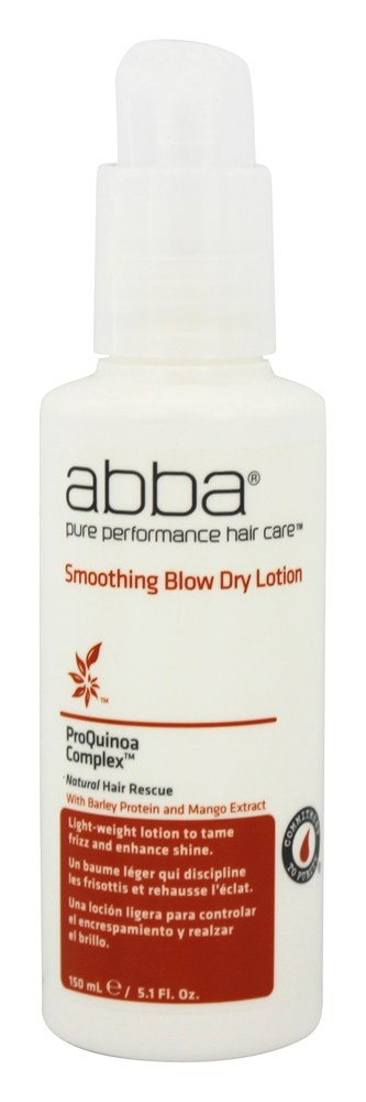 Abba Pure Performance Hair Care - Smoothing Blow Dry Lotion - 5.1 oz. CLEARANCE PRICED