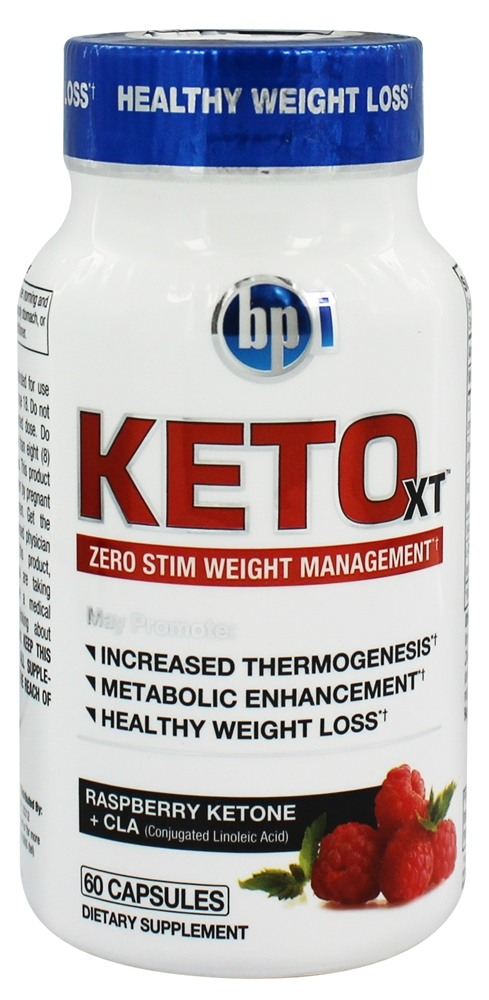 BPI Sports - Keto-XT Zero Stim Weight Management - 60 Capsules