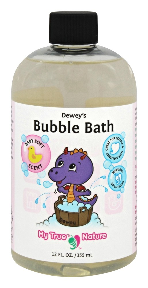 My True Nature - Dewey's Baby Bubble Bath Baby Soft - 12 oz. LUCKY PRICE