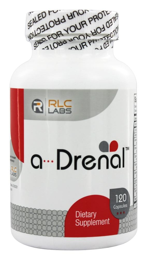 RLC Labs - A-Drenal Dietary Supplement - 120 Capsules