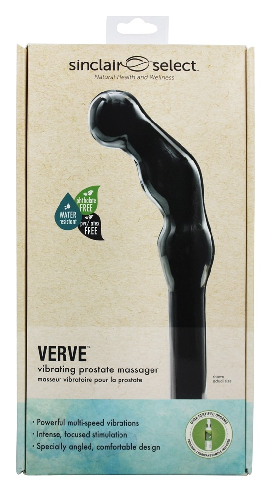 Sinclair Institute - Select Verve Vibrating Prostate Massager Black