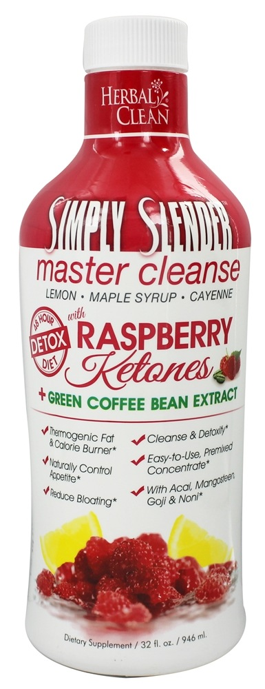 BNG Enterprises - Herbal Clean Simply Slender Master Cleanse with Raspberry Ketones & Green Coffee - 32 oz.