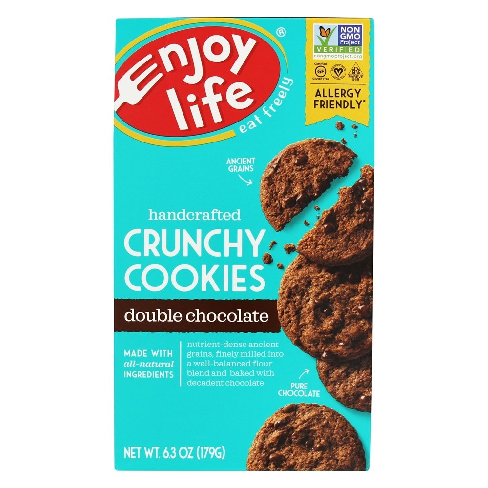 Enjoy Life Foods - Crunchy Cookies Double Chocolate - 6.3 oz.