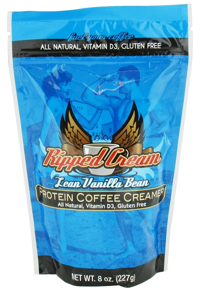 Ripped Cream - Protein Coffee Creamer Lean Vanilla Bean - 8 oz.