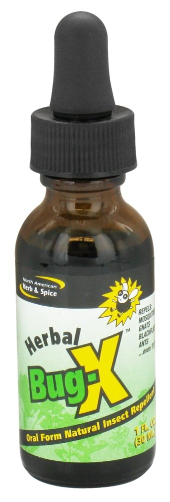 North American Herb & Spice - Herbal Bug-X Natural Insect Repellent - 1 oz. CLEARANCE PRICED