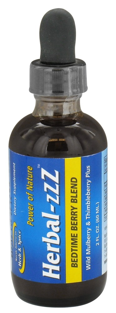 North American Herb & Spice - Power of Nature Herbal-Zzz Bedtime Blend Berry - 2 oz. CLEARANCE PRICED