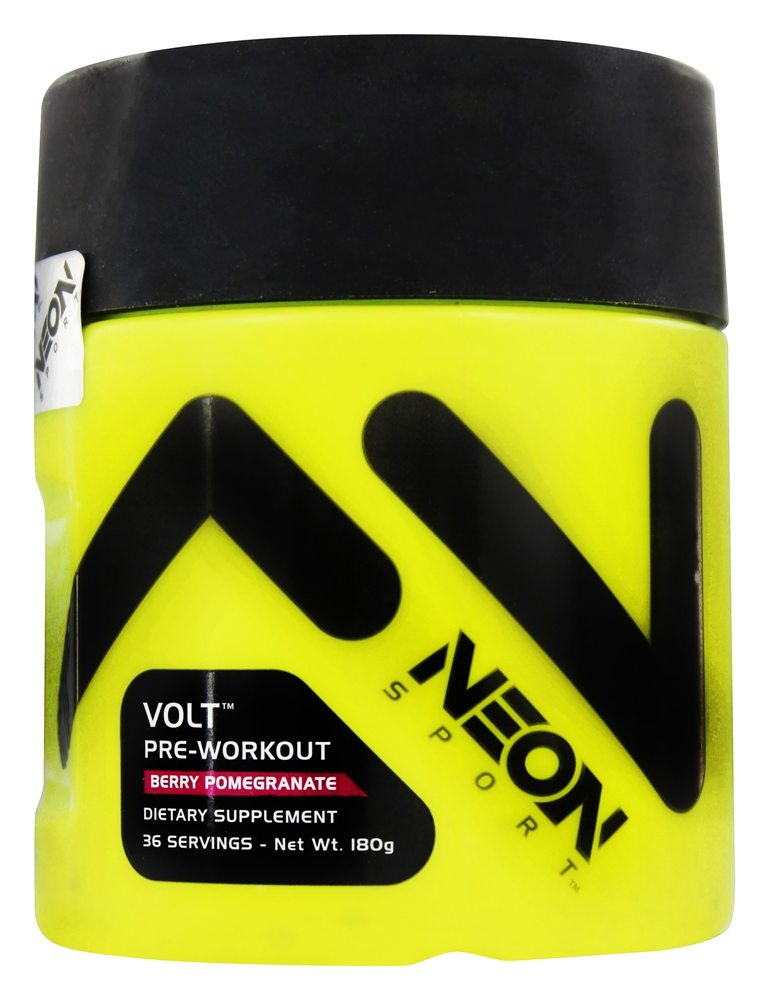 Neon Sports - Volt Pre-Workout Berry Pomegranate 36 Servings - 180 Grams