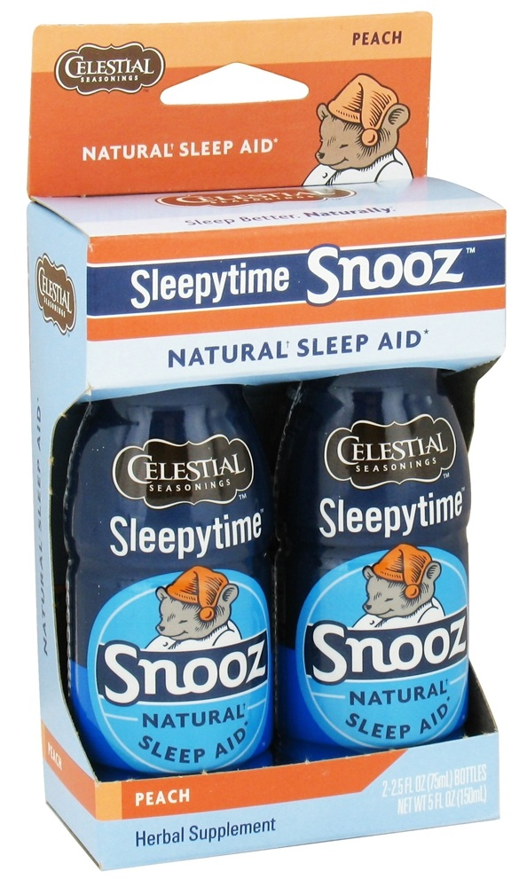 Celestial Seasonings - Sleepytime Snooz Natural Sleep Aid Peach - 5 oz.