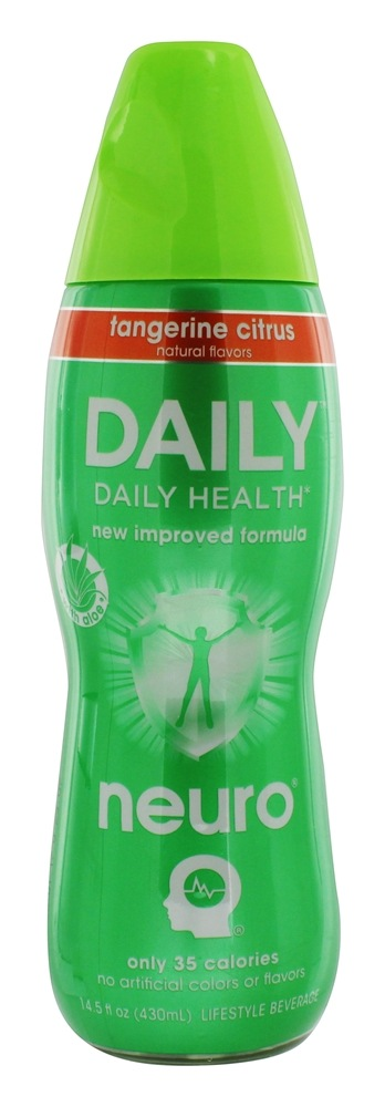 Neuro - Daily Lightly Carbonated Nutritional Supplement Drink Tangerine Citrus - 14.5 oz.