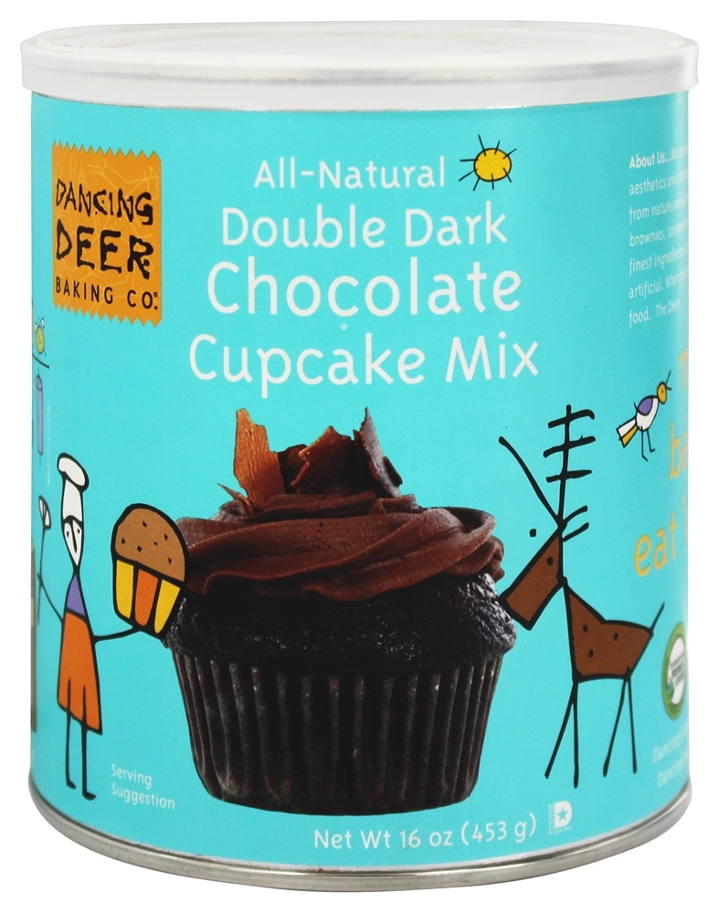 Dancing Deer Baking Co. - All-Natural Cupcake Mix Double Dark Chocolate - 16 oz.