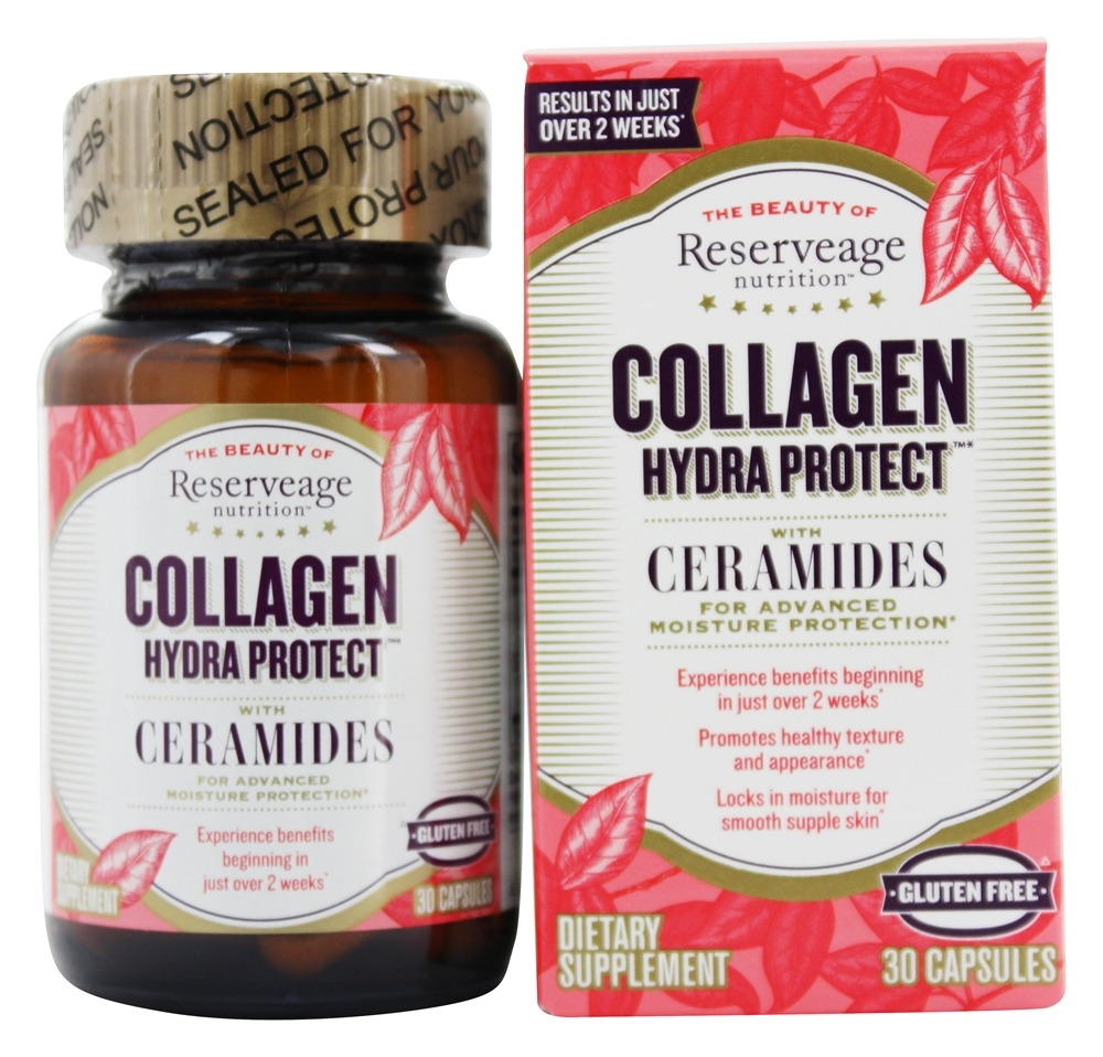 ReserveAge Organics - Collagen Hydra Protect - 30 Vegetarian Capsules