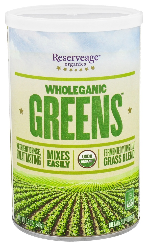 ReserveAge Organics - Wholeganic Greens Superfood Blend - 8.5 oz.