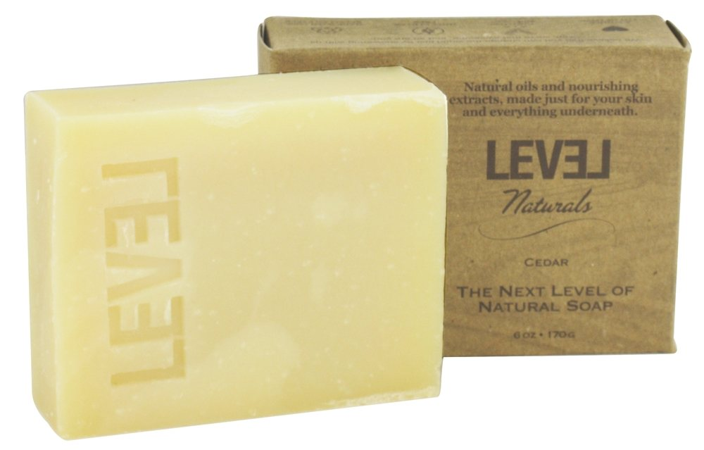 Level Naturals - Bar Soap Cedar - 6 oz.