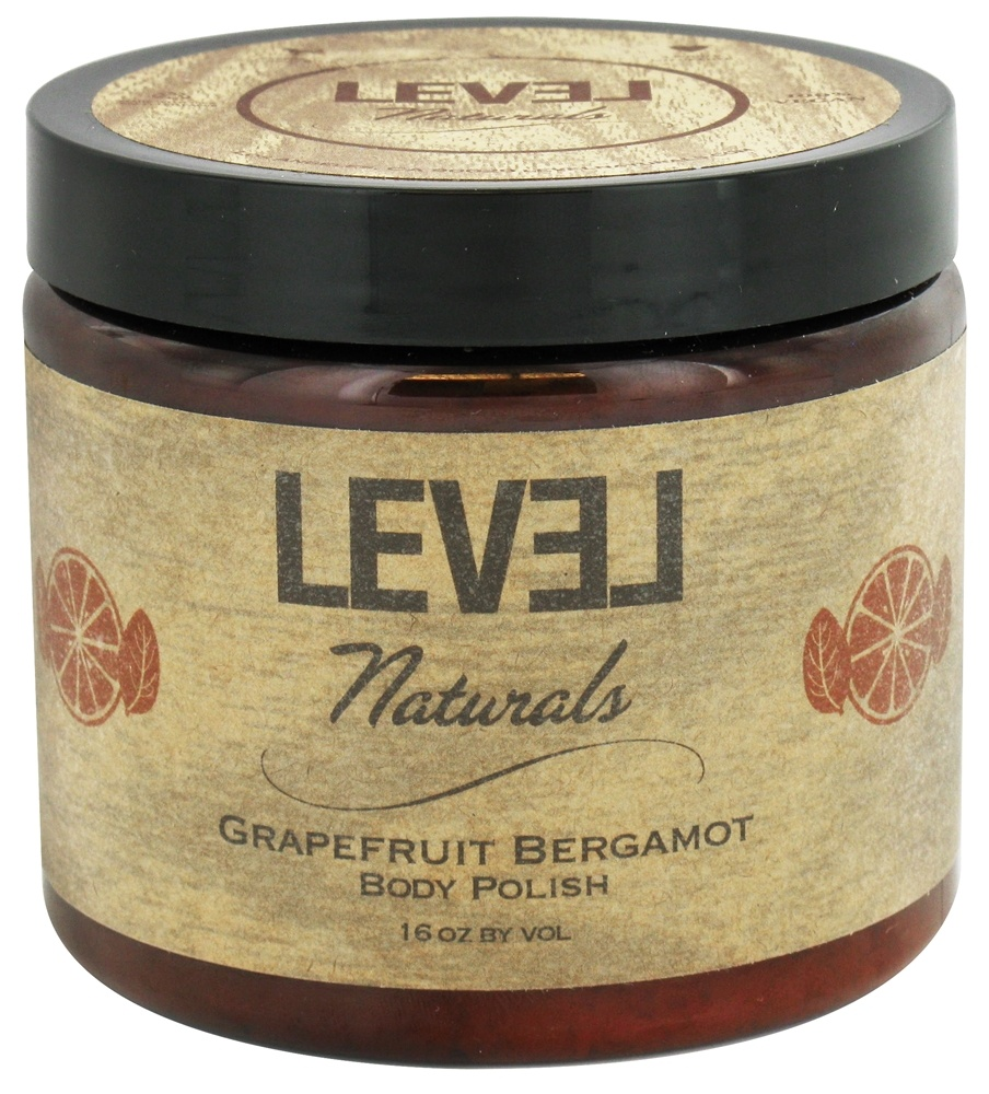 Level Naturals - Body Polish Grapefruit Bergamot - 16 oz.