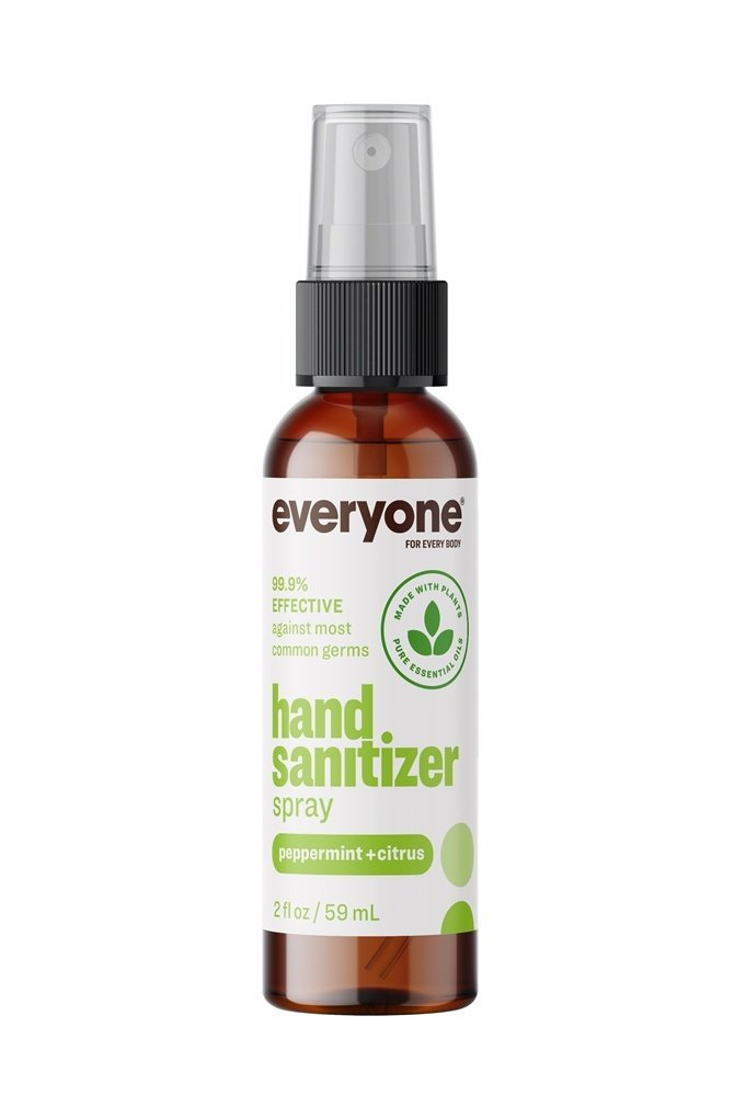 EO Products - Everyone Hand Sanitizer Spray Peppermint + Citrus - 2 oz.