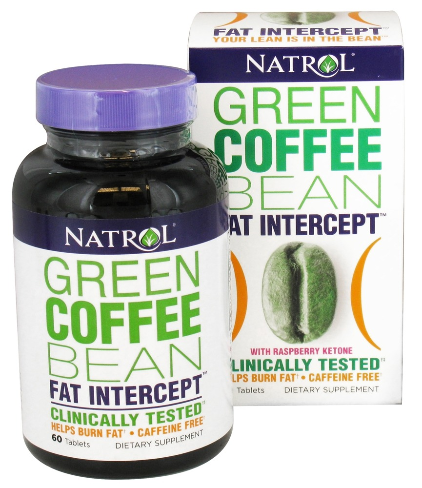 Natrol - Green Coffee Bean Fat Intercept - 60 Tablet(s)