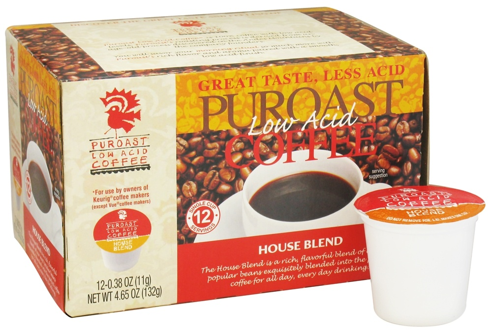 Puroast - Ground Low Acid Coffee House Blend - 4.65 oz.