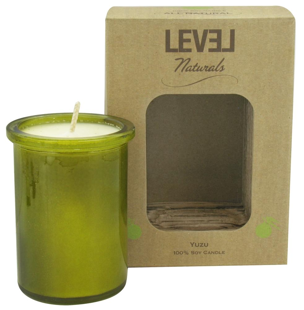 Level Naturals - Soy Candle Yuzu - 6 oz.