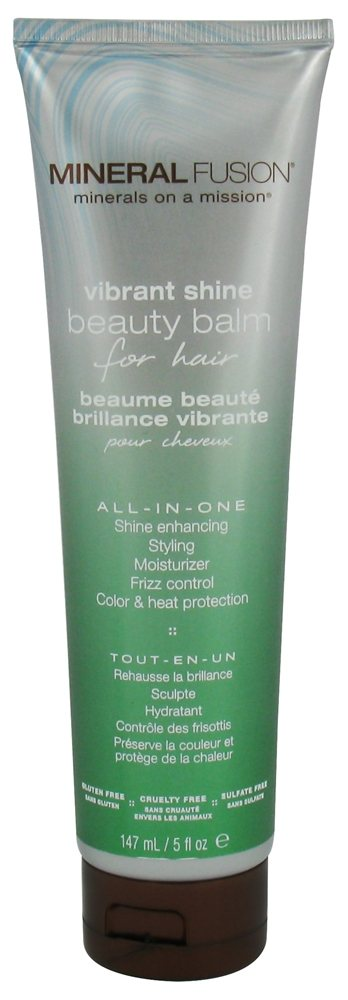 Mineral Fusion - Beauty Balm For Hair Vibrant Shine - 5 oz.