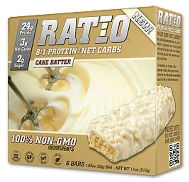 Ratio - 8:1 Protein Bars Cake Batter - 1.83 oz.