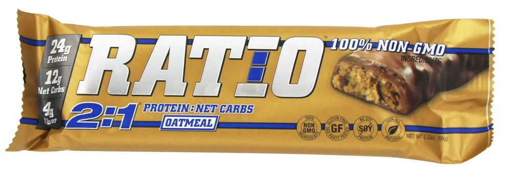 Ratio - 2:1 Protein Bars Oatmeal - 2.33 oz.