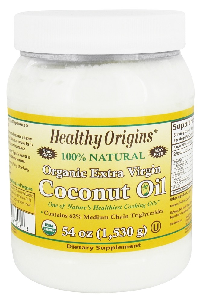 Healthy Origins - Organic Extra Virgin Coconut Oil - 54 oz.